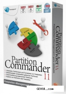 Avanquest Partition Commander v 11.0.7893
