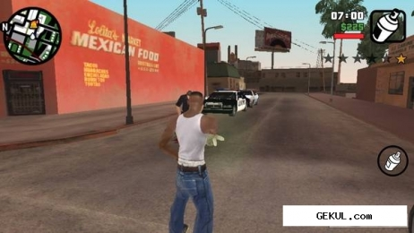 Grand theft auto: san andreas - hd edition (v.1.0.3) (2013/Rus/Eng/Multi7/Android). Скриншот №1
