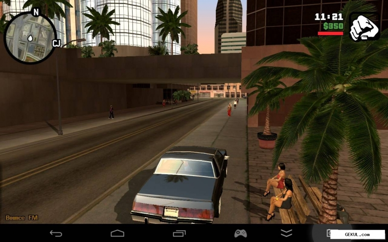 Grand theft auto: san andreas - hd edition (v.1.0.3) (2013/Rus/Eng/Multi7/Android). Скриншот №6