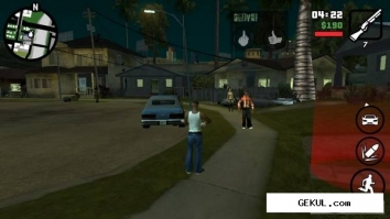 Grand theft auto: san andreas - hd edition (v.1.0.3) (2013/Rus/Eng/Multi7/Android). Скриншот №2