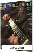 Guitar play-along vol. 83 - three chord songs